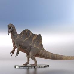 Télécharger fichier STL Dinosaure réaliste Spinosaurus Dimentions réelles Femme • Objet pour imprimante 3D, samlyn696