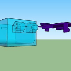 Pastillero solo separado.jpg Download STL file Pill Box 6x 5x 1x • 3D printing model, GiasonoD