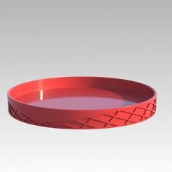 Descargar archivos STL gratis Platillo multiusos de 17 cm de diámetro, desceo
