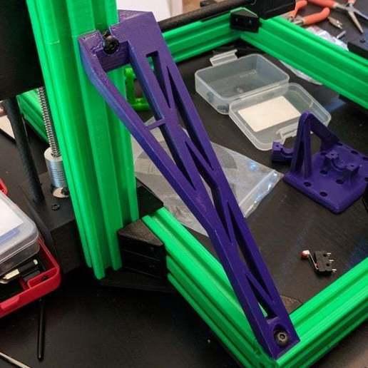 Télécharger plan imprimante 3D gatuit AM8 AP8 Entretoises de cadre, KerseyFabrications