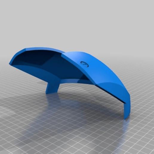 9cf21554a96a2ebb3ee1091f17c4286b.png Download free STL file Iron Man Mark III Helmet Separated and Oriented • 3D printer template, KerseyFabrications