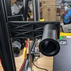 PXL_20201010_151414727.jpg Télécharger fichier STL gratuit Support de bobine pour montage par extrusion • Plan imprimable en 3D, KerseyFabrications