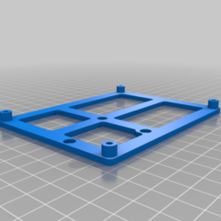 Download free STL file Ender 5 Plus Bigtreetech V1.4 Turbo Mainboard Mount • Template to 3D print, KerseyFabrications