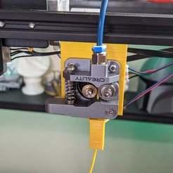 PXL_20201010_151442094.jpg Télécharger fichier STL gratuit Support d'extrudeuse avec capteur de faux-rond pour le montage de l'extrudeuse • Modèle imprimable en 3D, KerseyFabrications