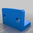 Télécharger fichier STL gratuit Creality Ender 5 Amélioration de la monture X EndStop, KerseyFabrications