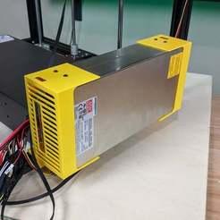 Télécharger fichier STL gratuit Mont d'extrusion Mean Well SE-600 • Plan imprimable en 3D, KerseyFabrications