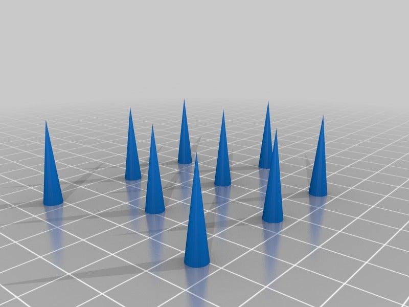 456e7c09ae9a1e40316139af371b1692.png Télécharger fichier STL gratuit Test de rétraction des cordes • Design à imprimer en 3D, KerseyFabrications