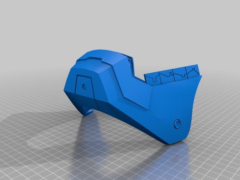 42ee30ca15c2d2d44c6569d8fdb3776a.png Download free STL file Iron Man Mark III Helmet Separated and Oriented • 3D printer template, KerseyFabrications
