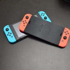 Descargar archivos 3D gratis Interruptor de tamaño completo Joy-Con Holder, KerseyFabrications