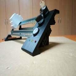 IMG_20191129_062013.jpg Download free SCAD file DIN rail development panel • Template to 3D print, Sharkus