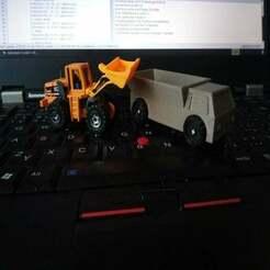 IMG_20191028_124208.jpg Download free SCAD file Simple truck / Náklaďák • 3D printing model, Sharkus