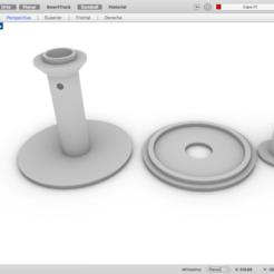 Download free 3D printer designs mini swivel base, rotating base, maiktabba