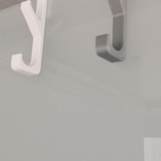 Télécharger fichier STL gratuit Cintre, cintre, cintre pare-douche, cintre pare-douche • Modèle imprimable en 3D, maiktabba