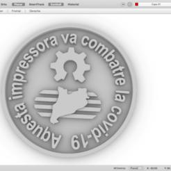 Captura de pantalla 2020-06-03 a las 11.44.27.png Télécharger fichier STL gratuit médaille d'impression civid-19 • Objet imprimable en 3D, maiktabba