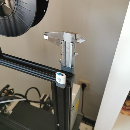 Télécharger fichier 3D gratuit étrier de support, support pour pied ender3, maiktabba
