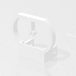viseur  v6 stl.png Download STL file v6 viewfinder (for the foldable and adjustable airsoft red dot) • 3D printable template, Qtdu12