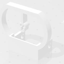 viseur  v4 stl.png Télécharger fichier STL Viseur v4 (pour la red dot pliable et réglable airsoft) • Objet pour imprimante 3D, Qtdu12