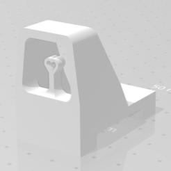 viseur v2.png Download STL file v2 viewfinder assembly (for the airsoft foldable and adjustable red dot) • 3D print design, Qtdu12