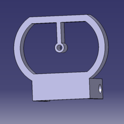 Download 3D printing templates Viewfinder v5 (for the foldable and adjustable airsoft red dot), Qtdu12