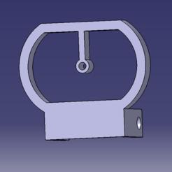 viseur v5.png Download STL file Viewfinder v5 (for the foldable and adjustable airsoft red dot) • 3D print model, Qtdu12
