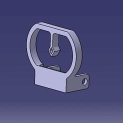 viseur v2 catia.png Télécharger fichier STL Viseur v2 (pour la red dot pliable et réglable airsoft) • Plan à imprimer en 3D, Qtdu12