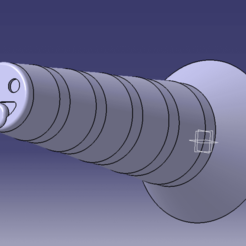bouchon échappement catia.png Download STL file exhaust plug for motorcycle cleaning • 3D printing design, Qtdu12