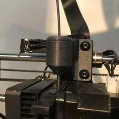 Descargar archivos STL gratis Limpiador/guía de filamentos para el Duplicador Wanhao i3 Plus, CarstenD