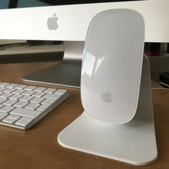 Imprimir en 3D gratis Soporte de carga del Apple Magic Mouse 2, CarstenD