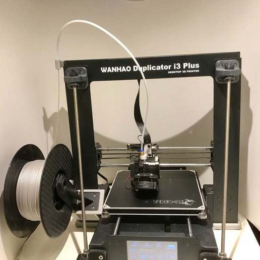 Download free STL file Reverse Bowden Setup for Wanhao Duplicator i3 and clones. • 3D printing object, CarstenD