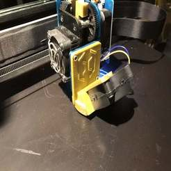Descargar modelos 3D gratis Artillería Sidewinder X1 parte del conducto del ventilador de refrigeración, CarstenD