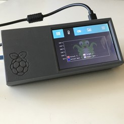 "Download STL file Raspberry Pi 4 - 3.5"" touch screen case • 3D printable model, CarstenD"