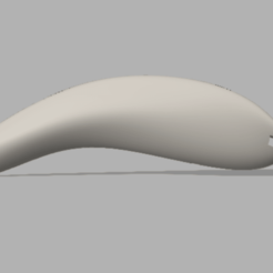 Captura de Pantalla 2020-07-14 a la(s) 20.59.25.png Download STL file Fishing Lure Banana deph 1 to 2 meters bait cast with paddle and rattling by Letal Lures • Design to 3D print, LetalLures