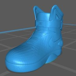 BOTA ☺NIKE.JPG Download STL file BACK TO THE FUTURE NIKE • Object to 3D print, earchivosg