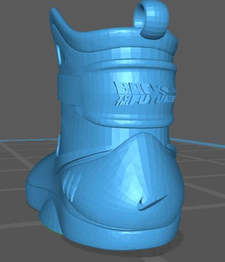 Captura.JPG Download STL file BACK TO THE FUTURE NIKE • Object to 3D print, earchivosg