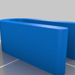 Descargar Modelos 3D para imprimir gratis Clips para el protector facial dagoma de 2 agujeros, EtherIoo