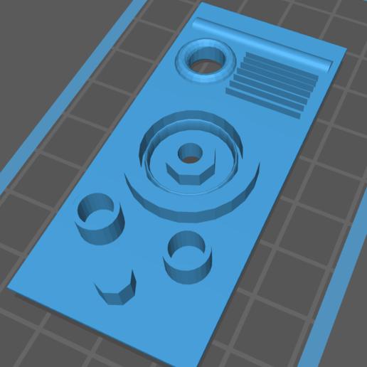 Download free 3D printer files Droid Port Greeblie, chrisnupp
