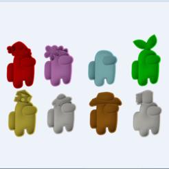 2020-11-26 13_02_35-among us render chico.png - Windows Photo Viewer.png Télécharger fichier STL 9 Pack parmi le pack américain • Modèle pour imprimante 3D, spaers