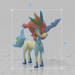 keldeo.png Download free OBJ file Keldeo • 3D printer object, thelyingminister