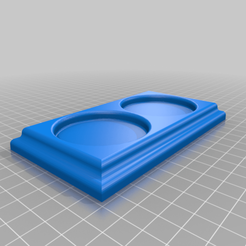 SP_shaker_base.png Download free STL file Salt & Peper Shaker Base • 3D printable model, Kiwi3D