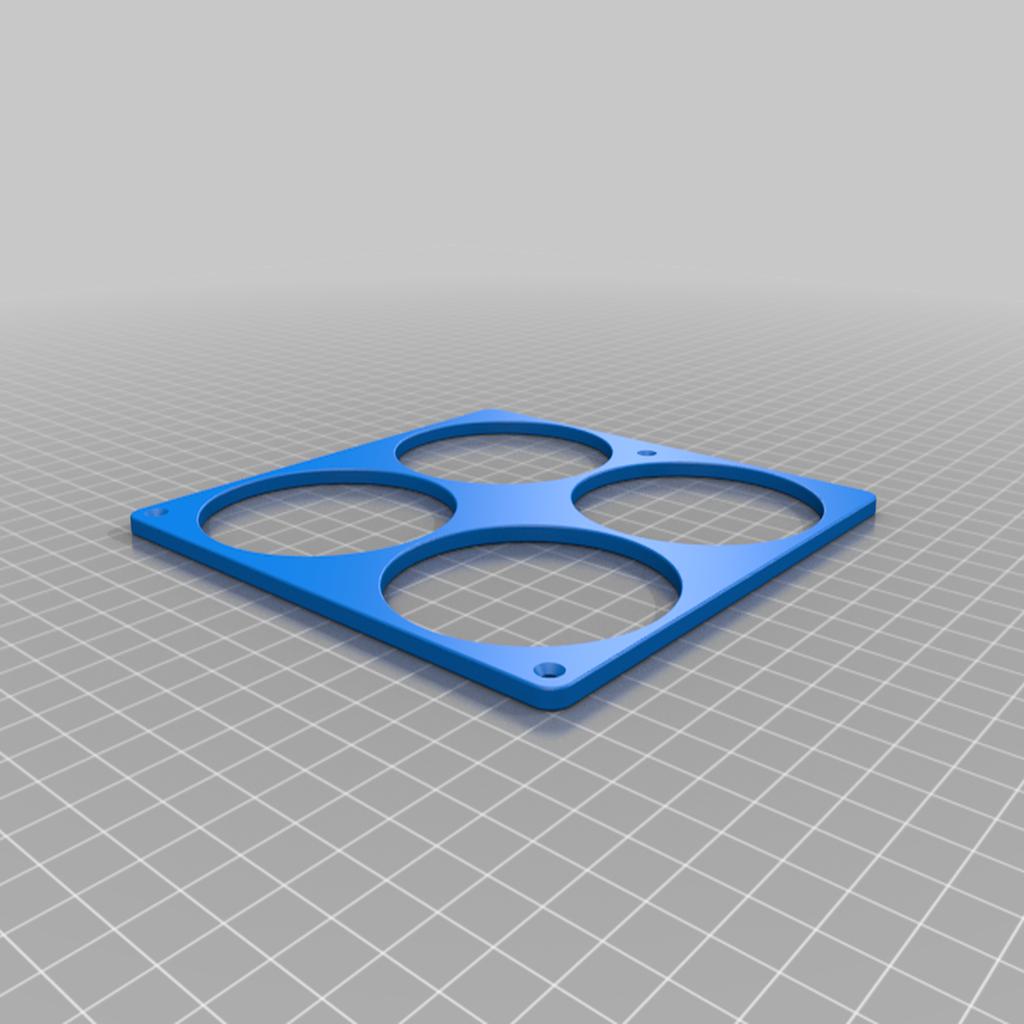4x_Beer_holder.png Download free STL file 4x Beer bottle Holder • 3D printer design, Kiwi3D