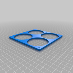 4x_Beer_holder.png Download free STL file 4x Beer bottle Holder • 3D printer design, Kiwi3D
