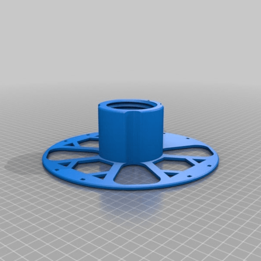cf489b190245a9159c21972eb43b404e.png Download free STL file Kiwi3D.co.nz 1KG refill coil Master spool • 3D print template, Kiwi3D