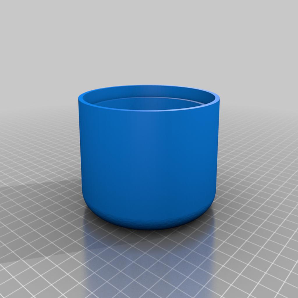 Bottom_two_tone_planter.png Télécharger fichier STL gratuit Pot de fleur bicolore • Plan pour imprimante 3D, Kiwi3D