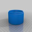 Top_two_tone_planter.png Télécharger fichier STL gratuit Pot de fleur bicolore • Plan pour imprimante 3D, Kiwi3D