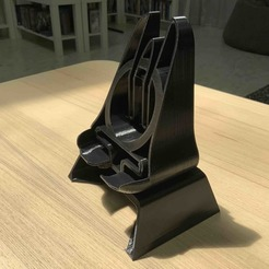 1.jpg Download free STL file Mobile phone stand ONYX • 3D printer design, Modellismo