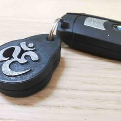 Télécharger fichier impression 3D gratuit Porte-clés OM love, Modellismo