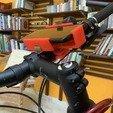 Download free STL file Bicycle mobile phone holder • 3D printable model, Modellismo
