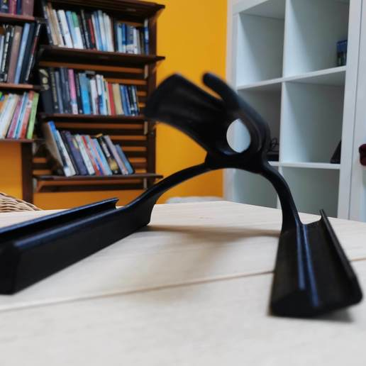 1.jpg Download free STL file iPad stand Degeba • 3D printing template, Modellismo