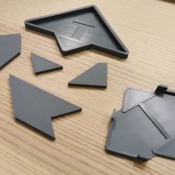 Télécharger fichier impression 3D gratuit Puzzle avec affaire, Modellismo