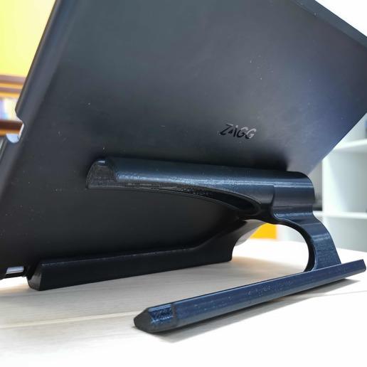 3.jpg Download free STL file iPad stand Degeba • 3D printing template, Modellismo